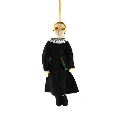Ruth Bader Ginsburg Ornament - The New York Public Library Shop