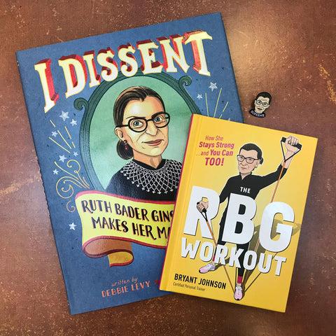 Ruth Bader Ginsburg Set (with special discount!)