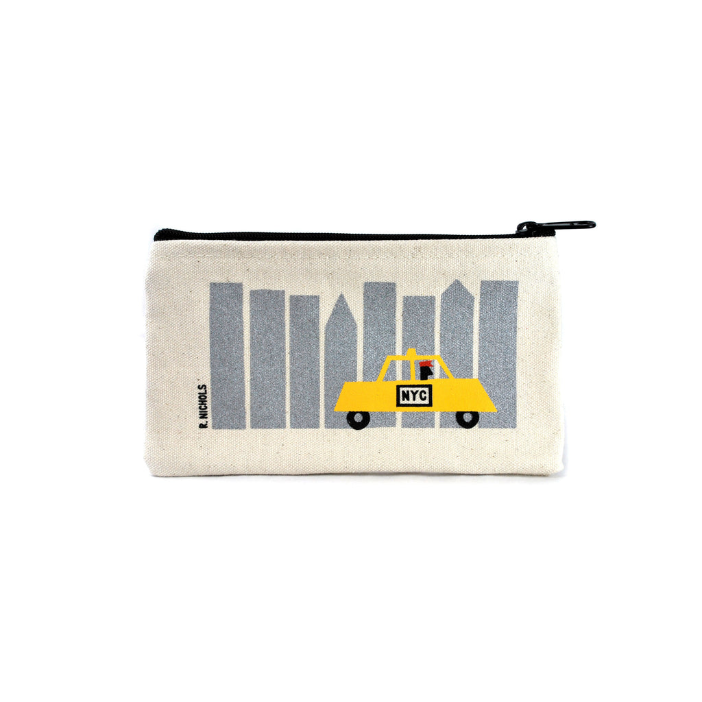 NYC Taxi  Pouch - The New York Public Library Shop