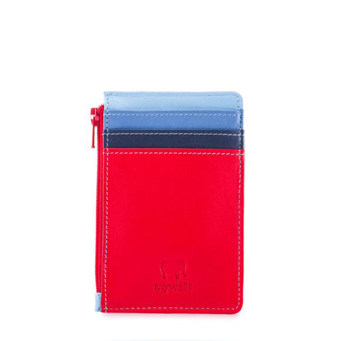 Credit Card Holder with Zipper: Royal Mywalit