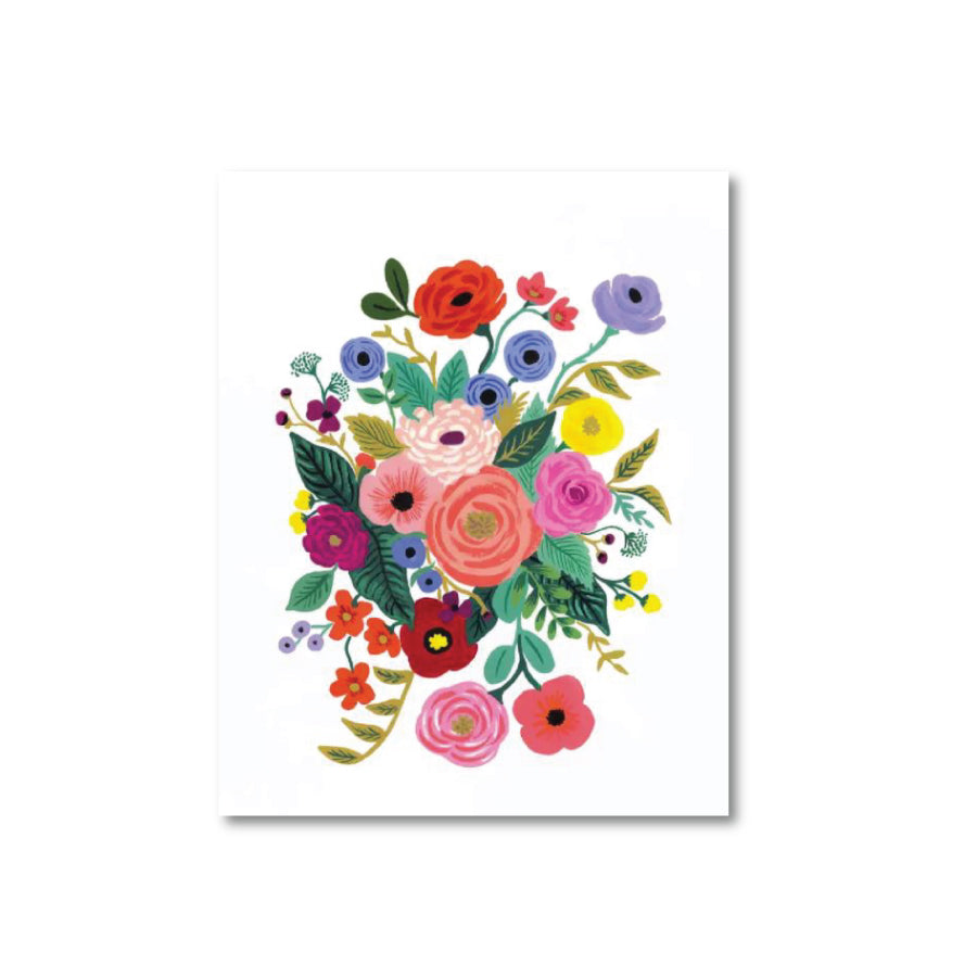 Juliet Rose Bouquet Art Print