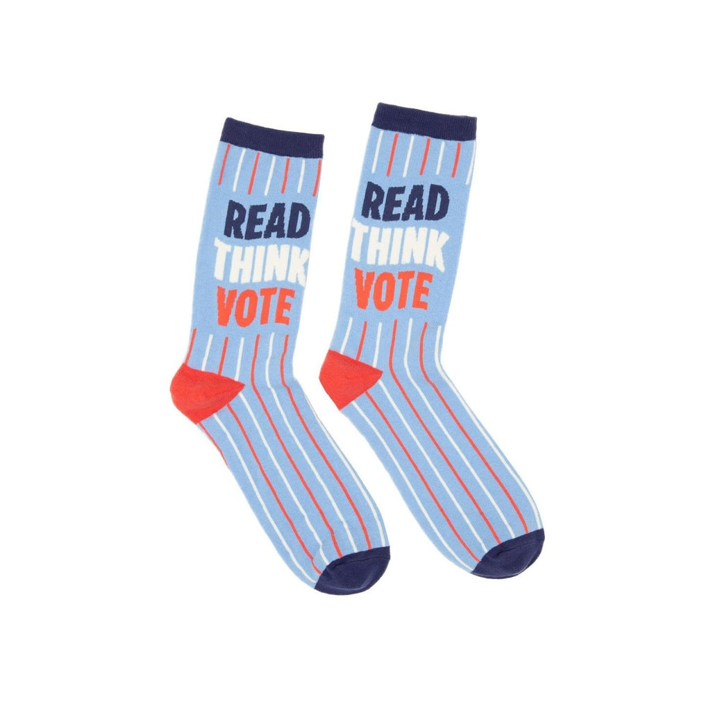 Read. Think. Vote Socks - The New York Public Library Shop