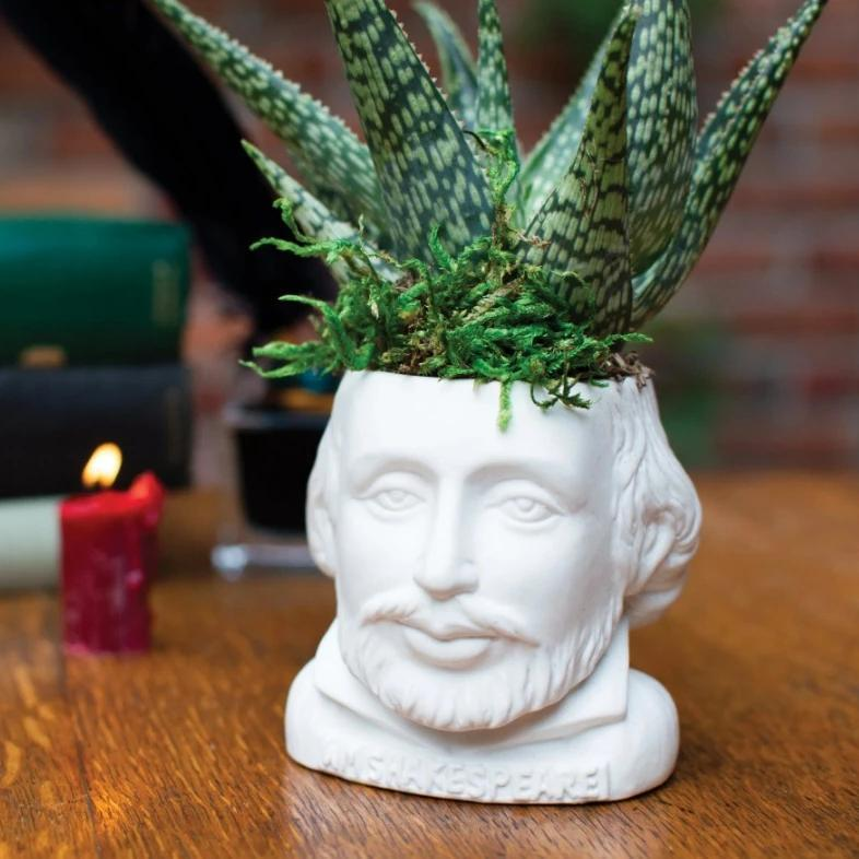 William Shakespeare Planter - The New York Public Library Shop