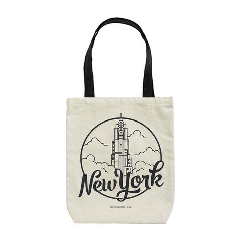 New York City Skyscraper Tote