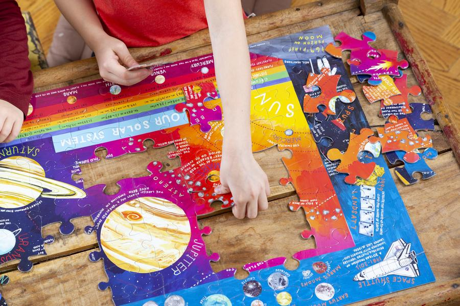 Solar System Kids Puzzle