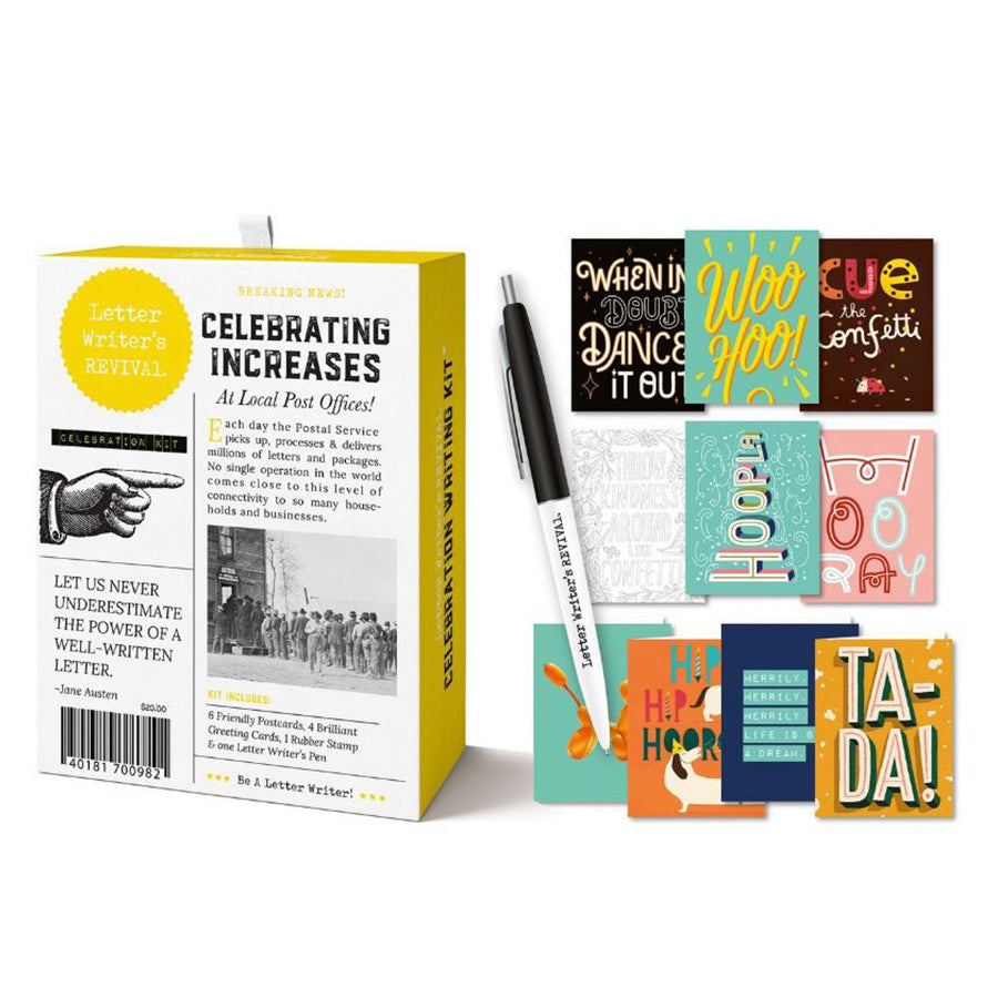 Letter Writing Kit: Celebration