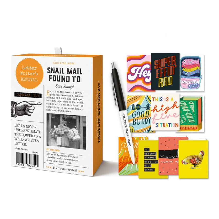 Letter Writing Kit: Comrade