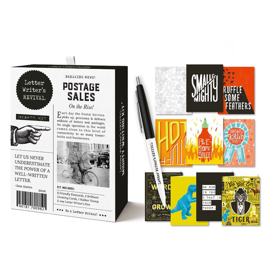 Letter Writing Kit: Mighty