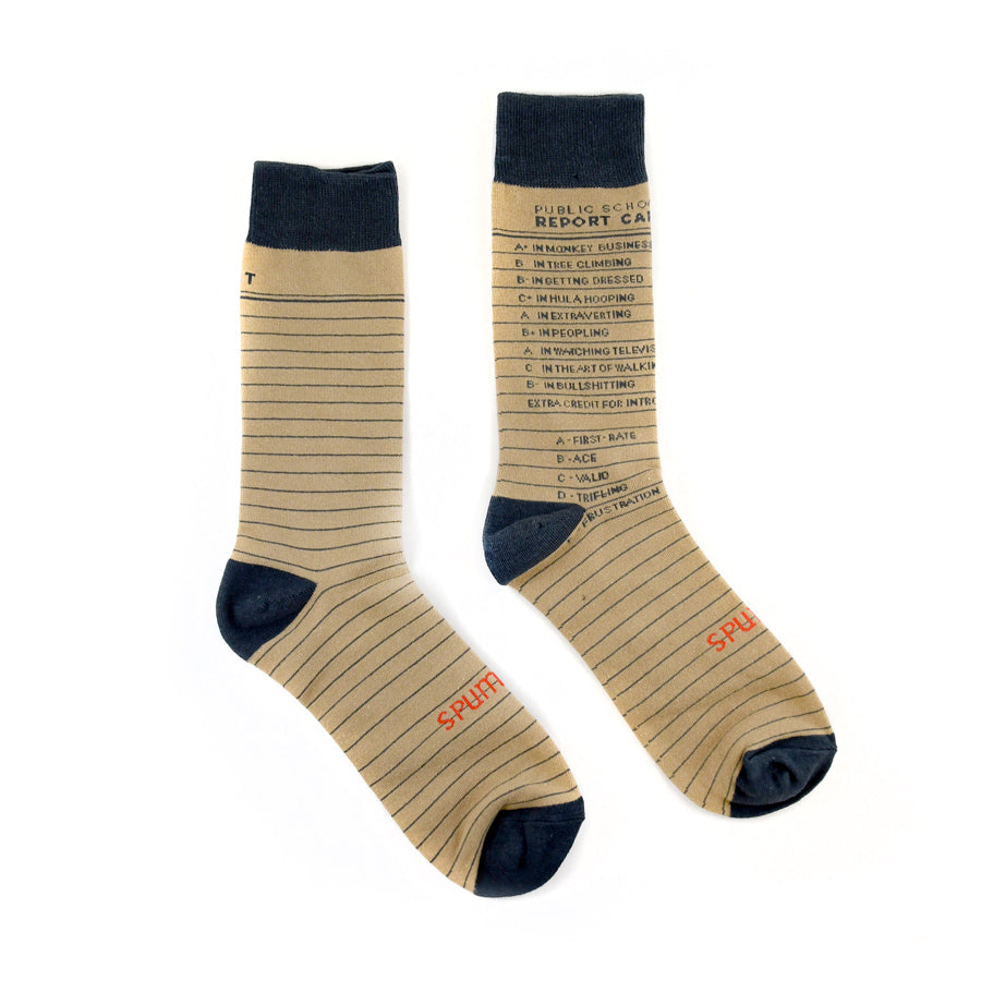 Report Card Socks