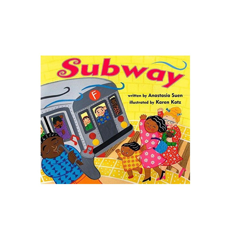 Subway (board book) - The New York Public Library Shop