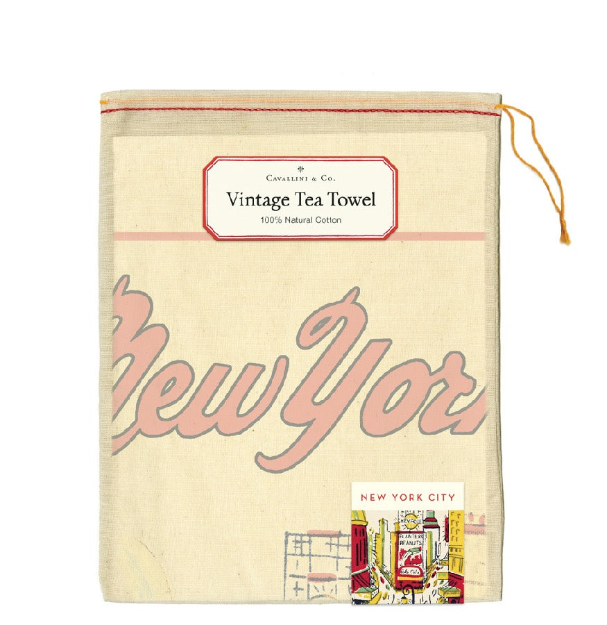 NYC Icons Tea Towel
