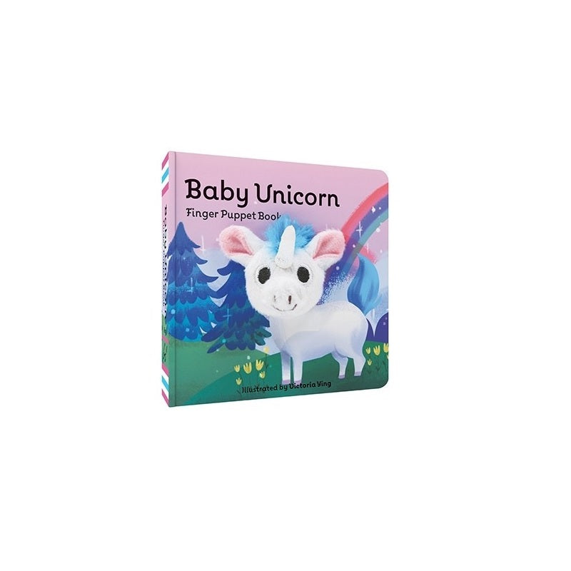 Baby Unicorn Finger Puppet Book - The New York Public Library Shop