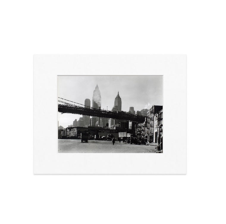 Waterfront Matted Print - The New York Public Library Shop