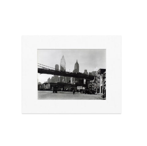 Waterfront Matted Print