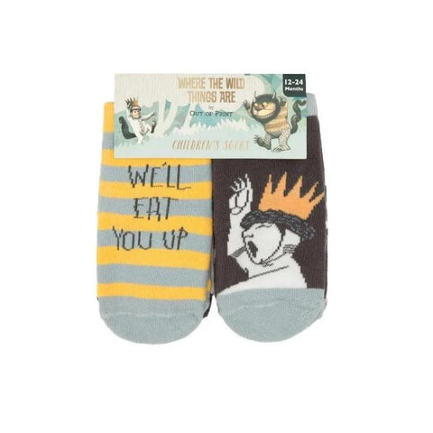 Where the Wild Things Kids Sock Set