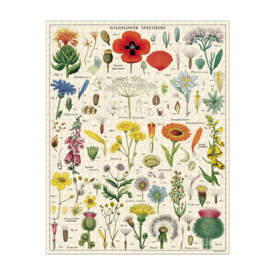 Wildflowers Puzzle