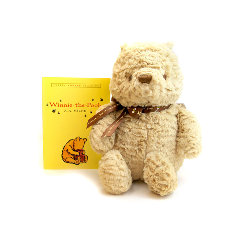 Winnie-the-Pooh Book + Plush Set - The New York Public Library Shop