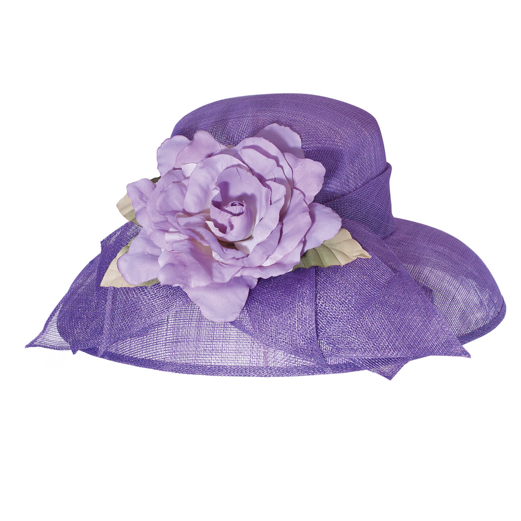 Rose Lampshade Lavender Hat