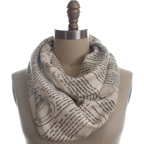 Alice in Wonderland Infinity Scarf - The New York Public Library Shop