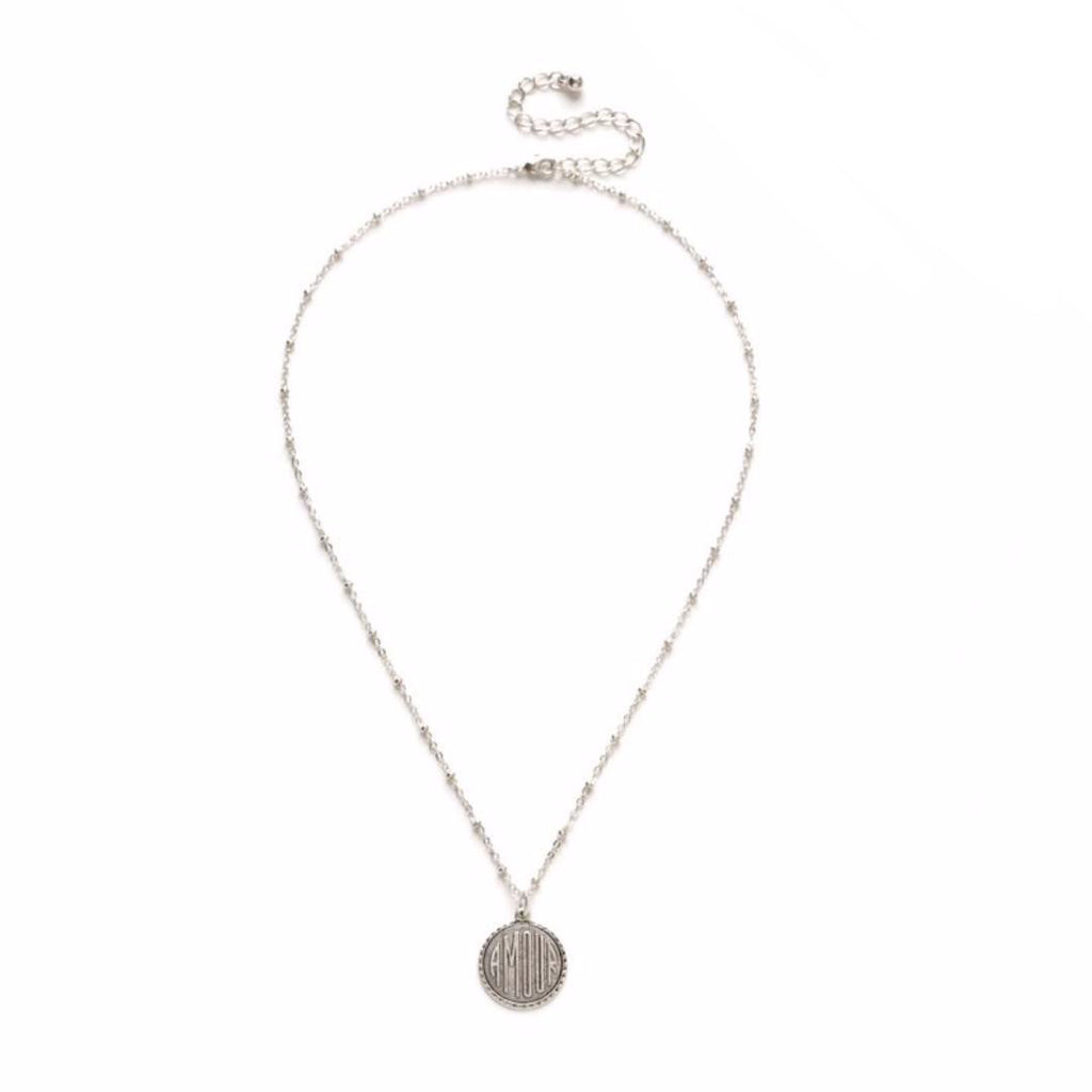 Amour Silver Necklace