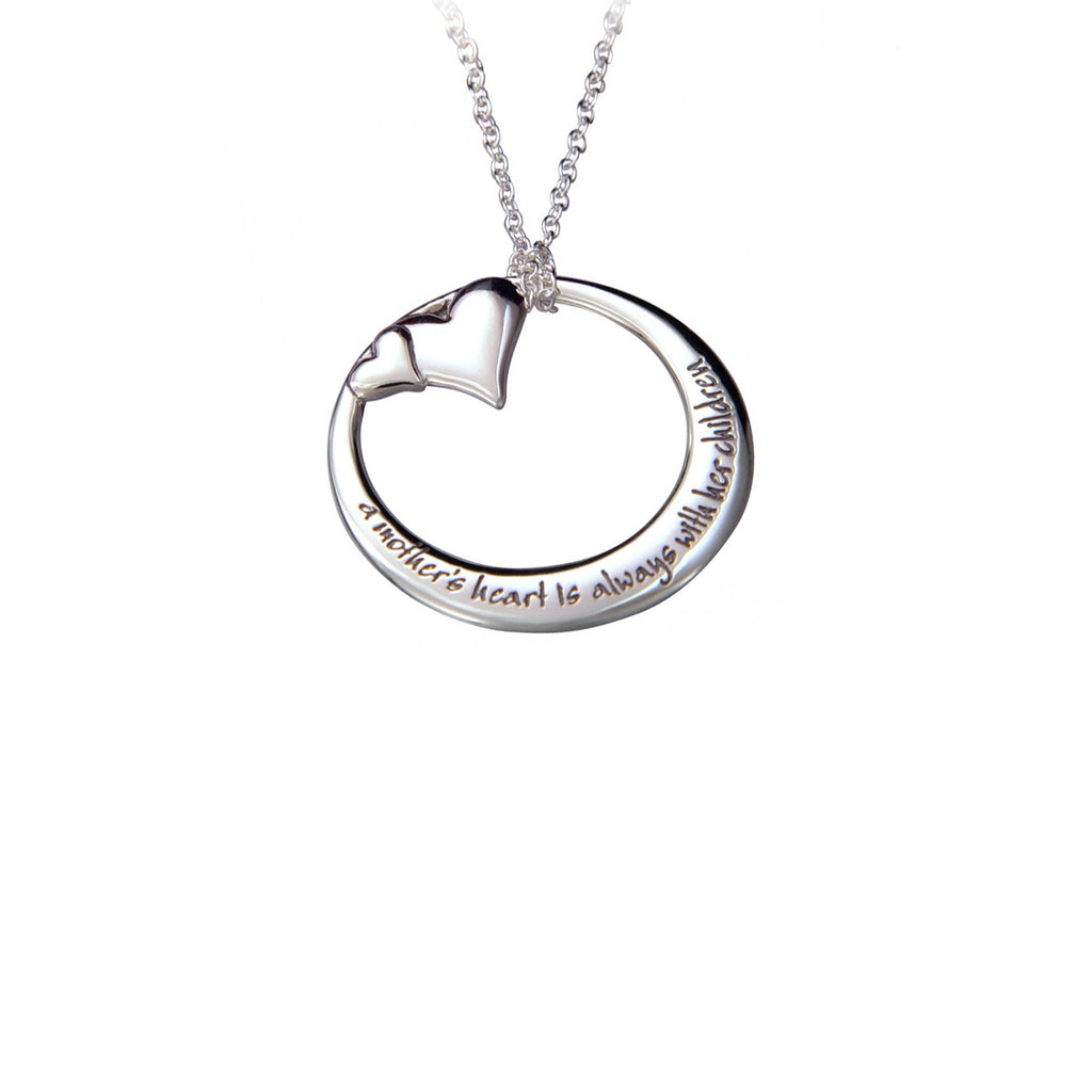 Heart Mom Necklace - The New York Public Library Shop