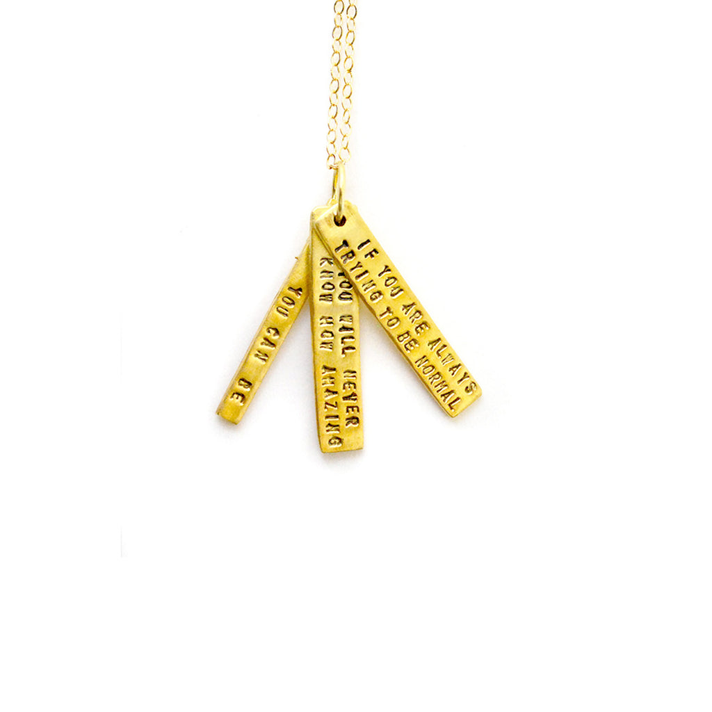 Maya Angelou Necklace - The New York Public Library Shop