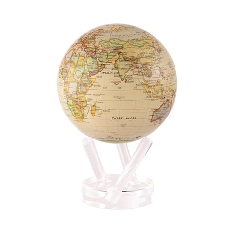 Mova Rotating Antique Gloss Globe