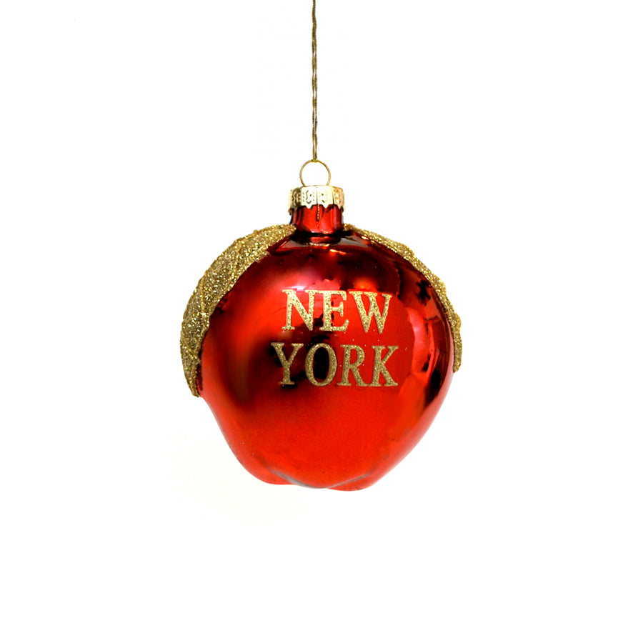 Big Apple NYC Ornament - The New York Public Library Shop