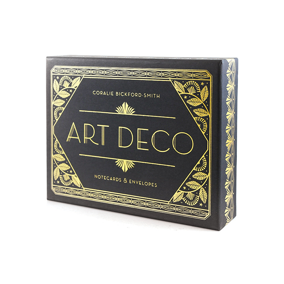 Art Deco Notecards