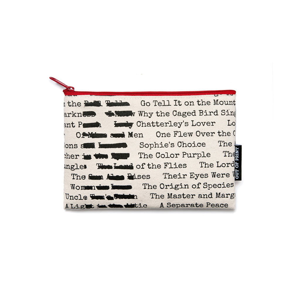 Banned Books Pouch - The New York Public Library Shop