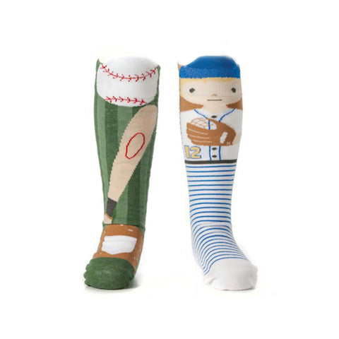 Baseball Storytime Kids Socks