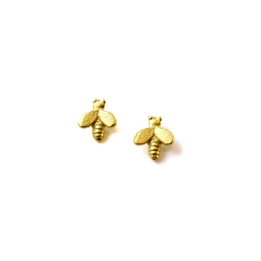 Honey Bee Earrings - The New York Public Library Shop
