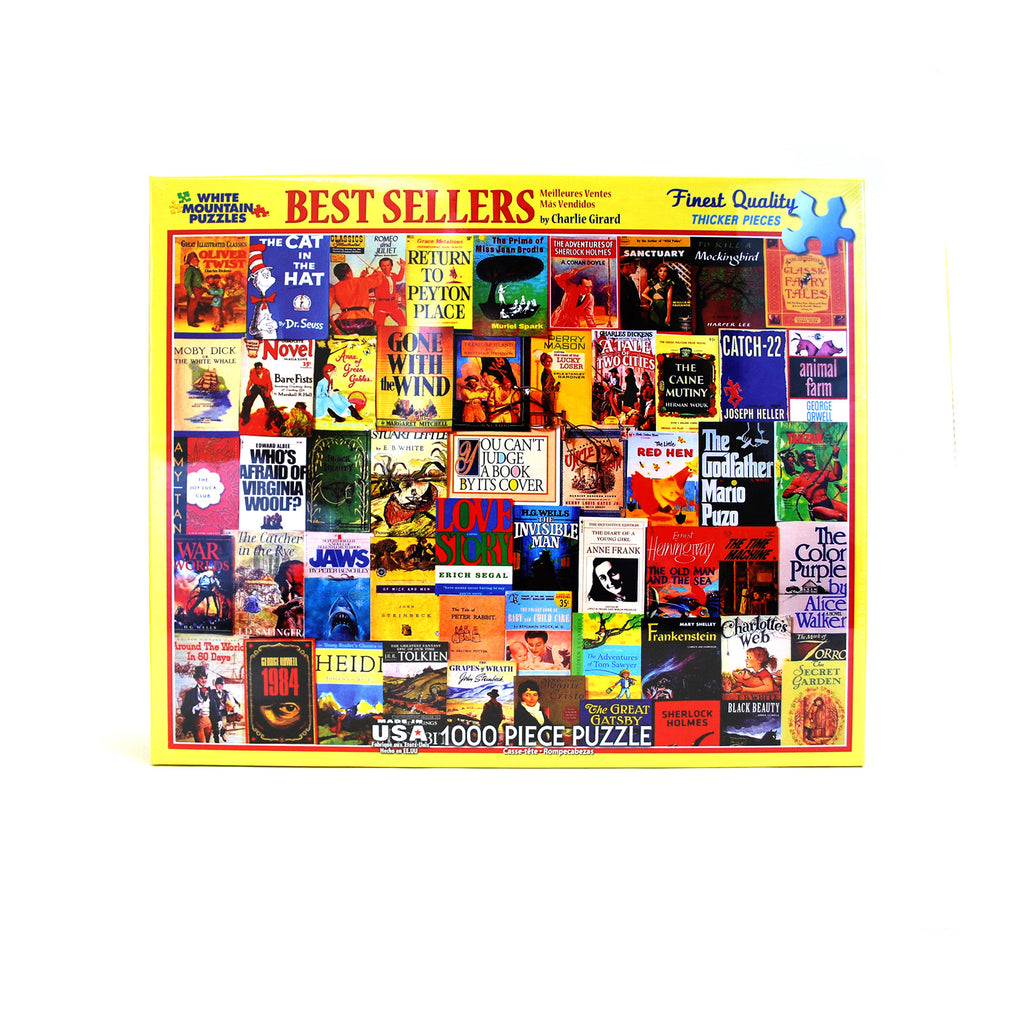 Best Sellers Puzzle - The New York Public Library Shop