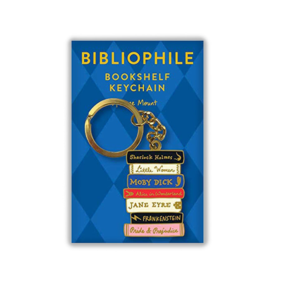 Bibliophile Keychain - The New York Public Library Shop