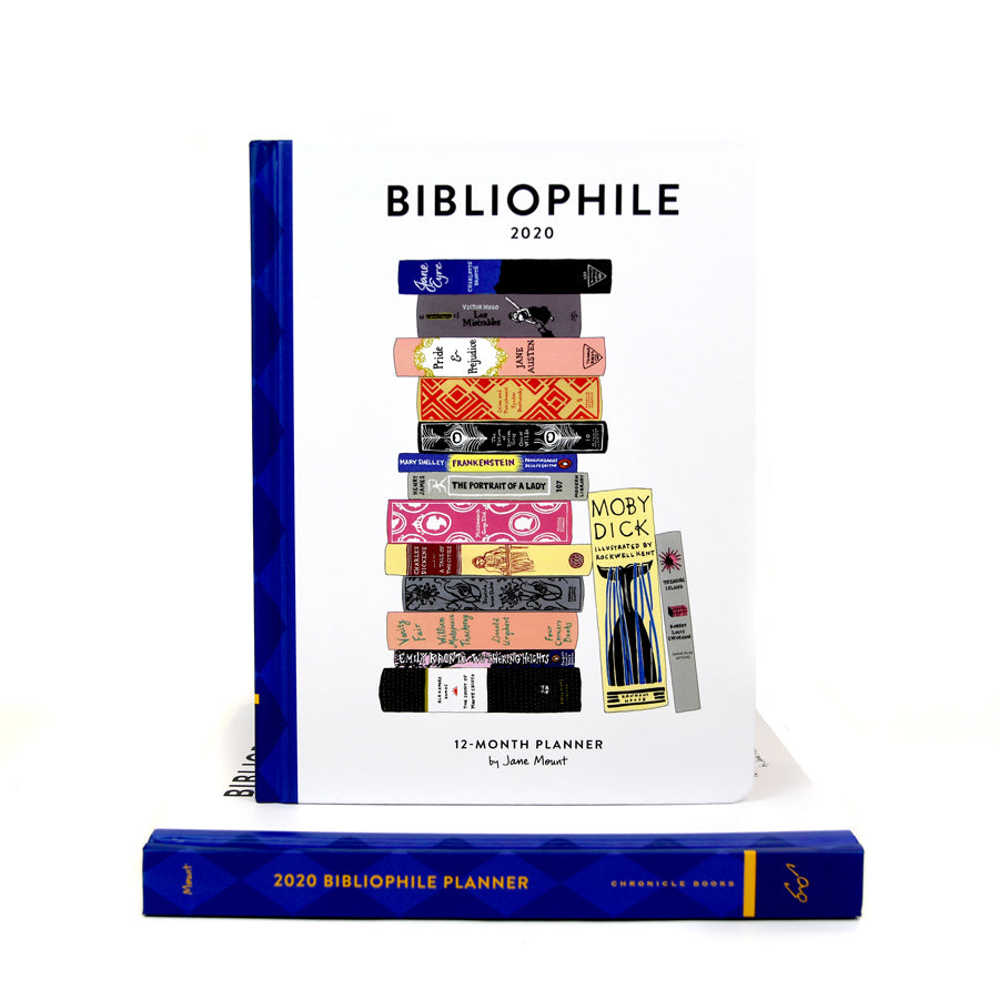 Bibliophile 2020 12-Month Planner - The New York Public Library Shop