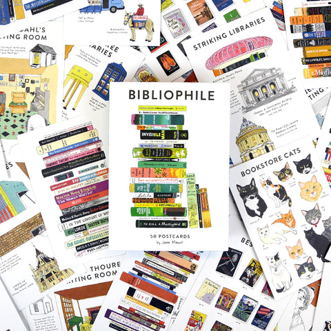 Bibliophile: 50 Postcards - The New York Public Library Shop