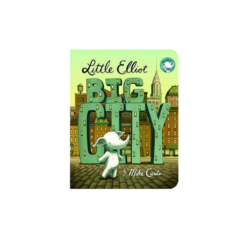 Little Elliot Big City (board book) - The New York Public Library Shop