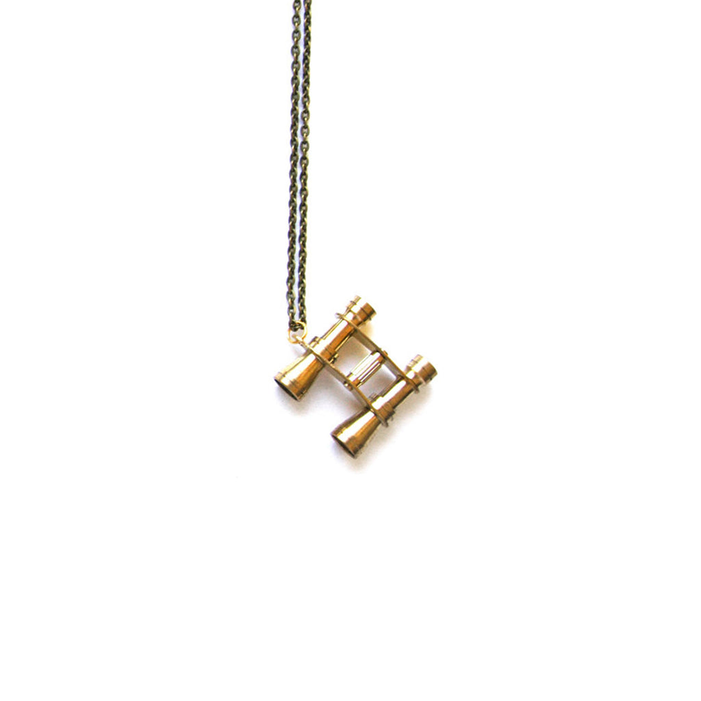 Binoculars Necklace - The New York Public Library Shop