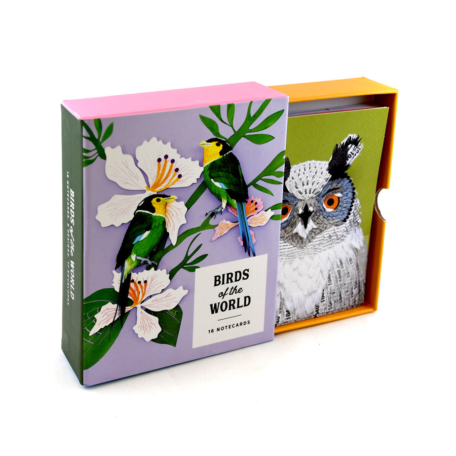 Birds of the World Notecards