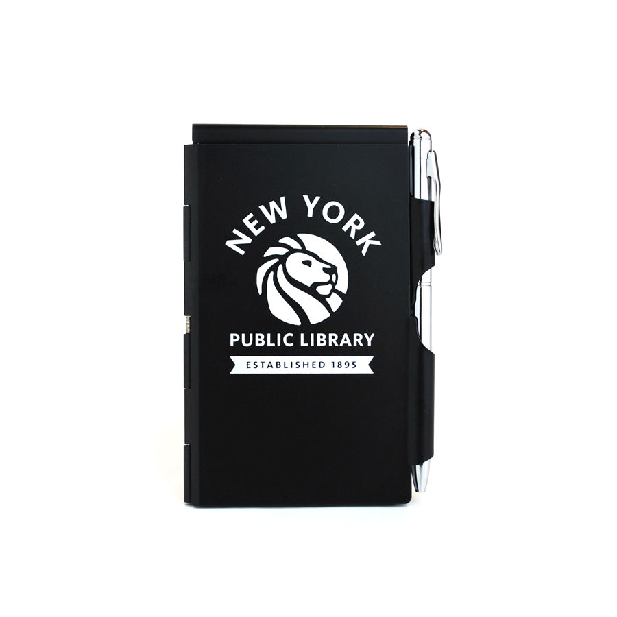 Black NYPL Flipnotes / 3 Refill Pads Included - The New York Public Library Shop