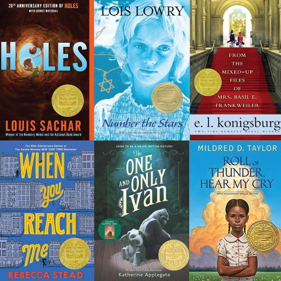 Newbery Winners: 125 Kids Books We Love Book Set