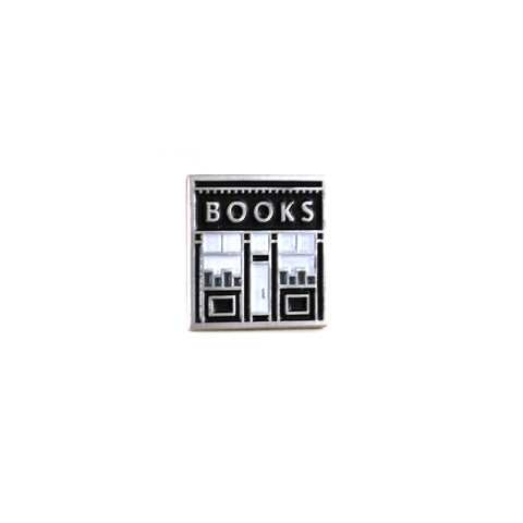 Book Shop Enamel Book Pin