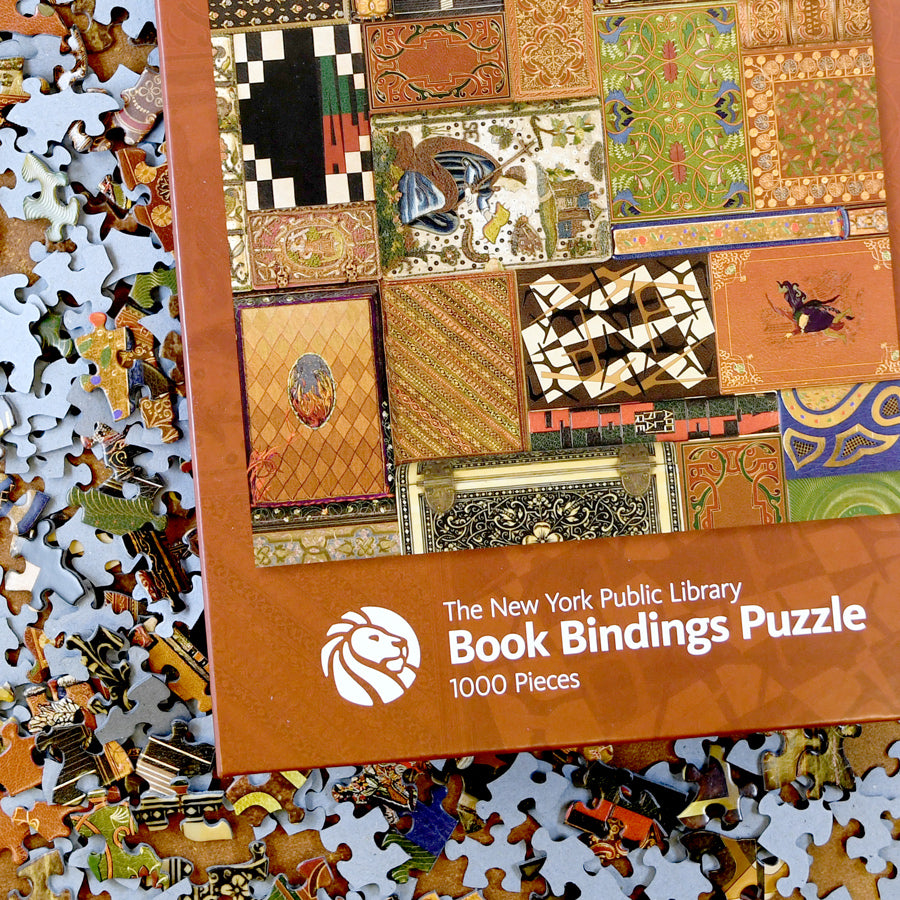 NYPL Bookbindings Puzzle