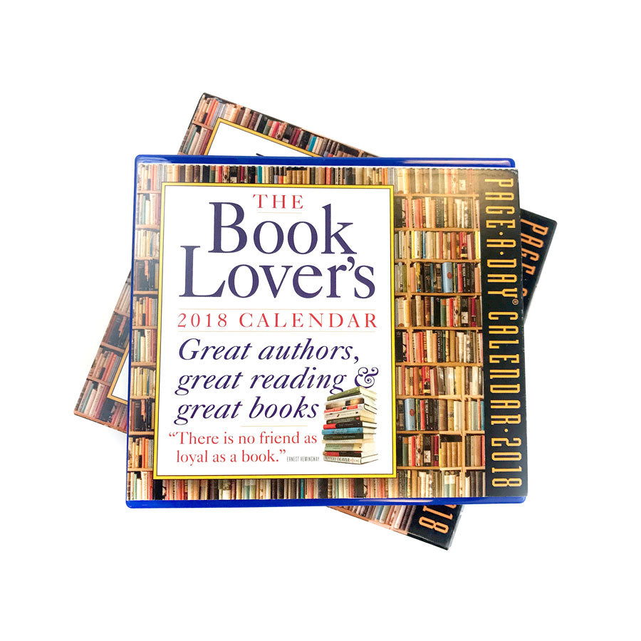 The Book Lover's 2018 Page-A-Day Calendar