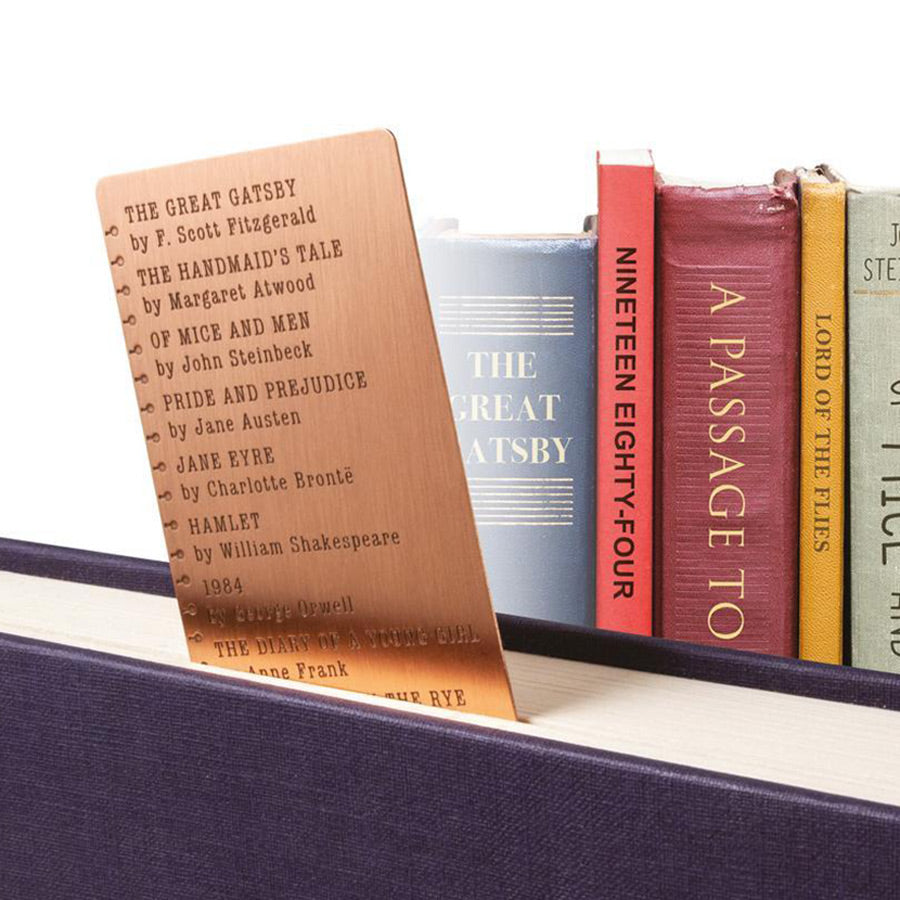 Bookmark Bucket List - The New York Public Library Shop