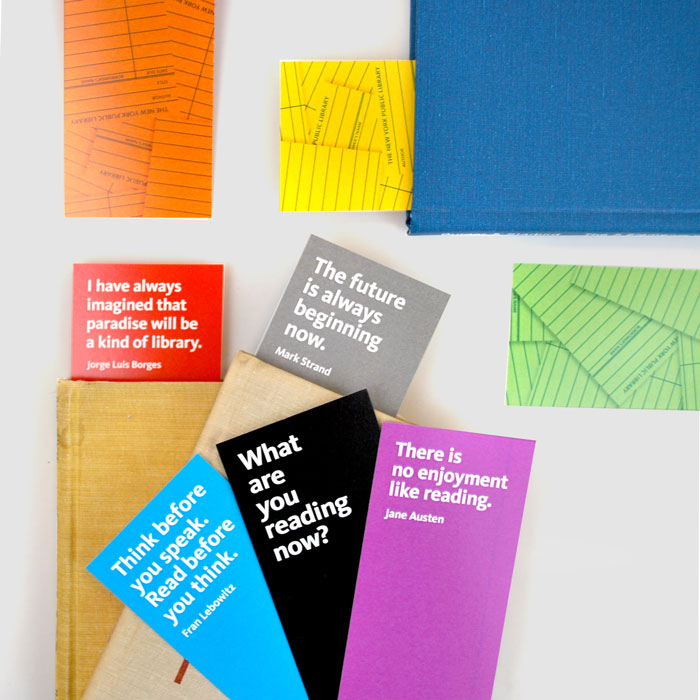 NYPL Quote Bookmarks - The New York Public Library Shop