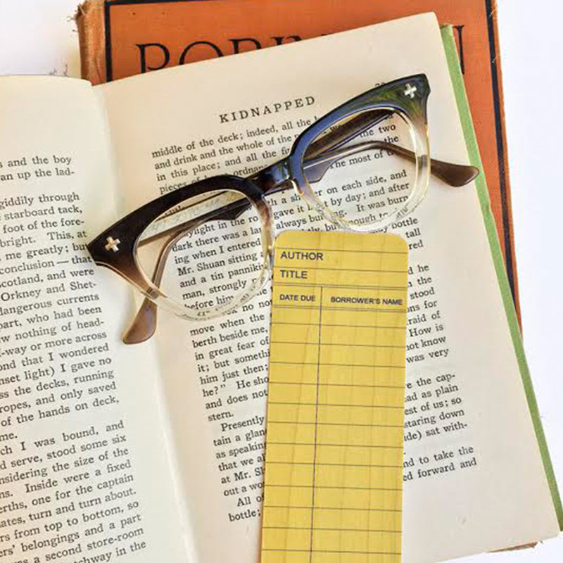 Library Card Bookmark - The New York Public Library Shop
