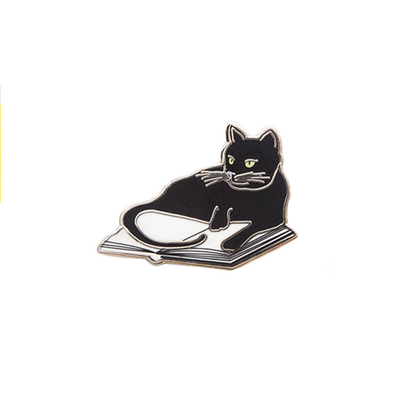 Book Cat Pin - The New York Public Library Shop