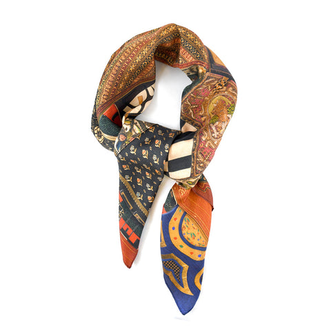 Spencer Bookbinding Silk Scarf