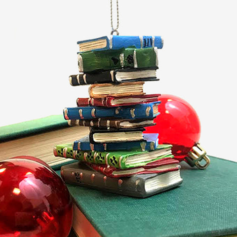 Book Stack Ornament